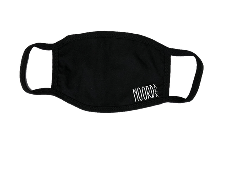 Mondkapje Face mask Noord met filter FASHION JUNKY small logo.