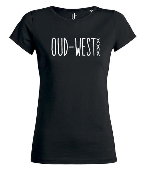 Oud-west T-shirt Fashion Junky Amsterdam tshirt Woman