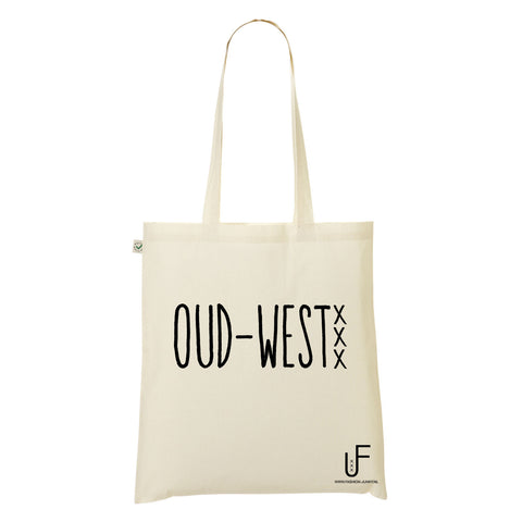 Oud-west Organic Shopping bag Fashion Junky Amsterdam