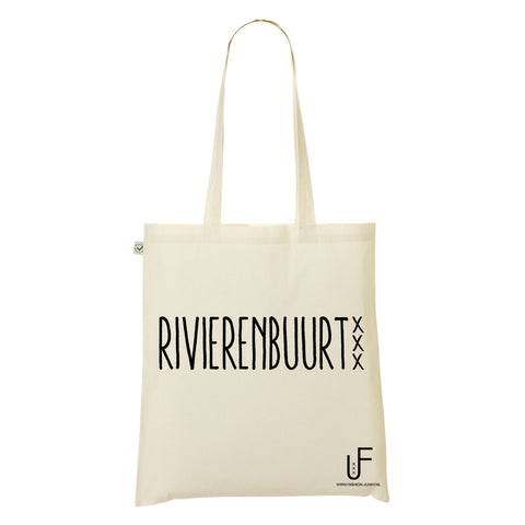 Rivierenbuurt Organic Shopping bag Fashion Junky Amsterdam