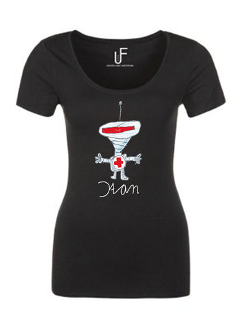 De Robot By Stan T-shirt Fashion Junky Amsterdam Duchenne tshirt Woman