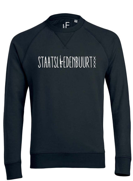 Staatsliedenbuurt Sweater Fashion Junky Amsterdam Trui Men