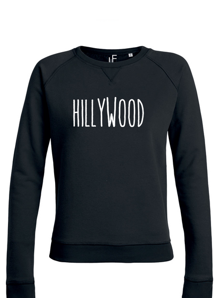 Women Hillywood Hilversum Black sweater Trui