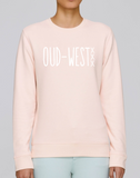 Oud - West Sweater Pink Fashion Junky Amsterdam Roze Trui Unisex
