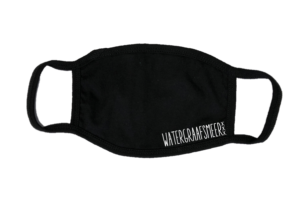 Mondkapje Face mask Watergraafsmeer met filter FASHION JUNKY small logo.