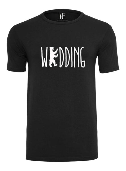 Wedding T-shirt Fashion Junky Berlin tshirt Men