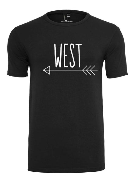 West T-shirt Fashion Junky Amsterdam tshirt Men