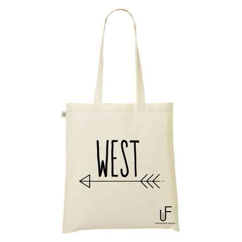 West Organic Shopping bag Fashion Junky Amsterdam
