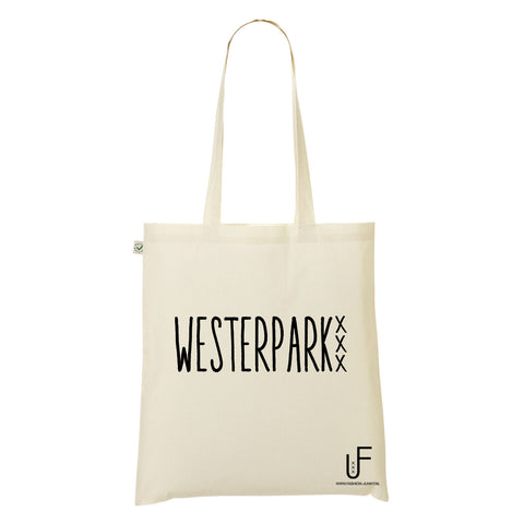 Westerpark Organic Shopping bag Fashion Junky Amsterdam