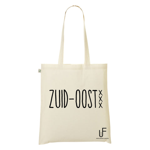 zuid-oost Organic Shopping bag Fashion Junky Amsterdam