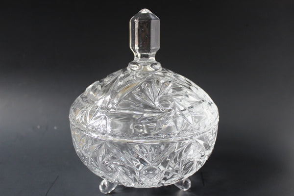 01-7 Glass sugar bowl