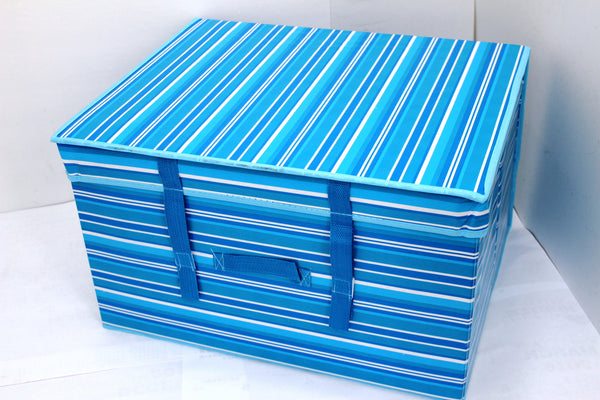 "12-1-2 Foldable storage with lid 20"" W x 16"" D x 12"" H"