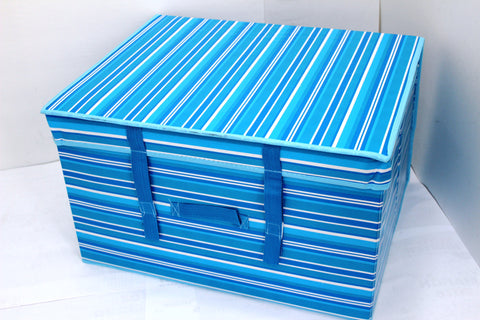 "12-1-6 Foldable storage with lid 20"" W x 16"" D x 12"" H"