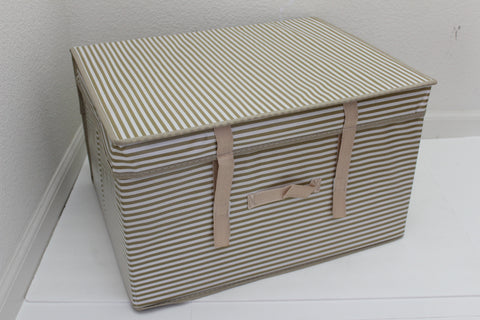 "12-1-1 Foldable storage with lid 20"" W x 16"" D x 12"" H"