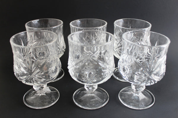 15-14 Glass Cup Set 6 pieces