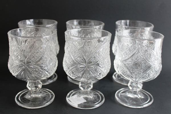 15-15 Glass Cup Set 6 pieces