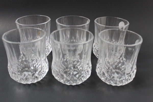 15-18 Glass Cup Set 6 pieces