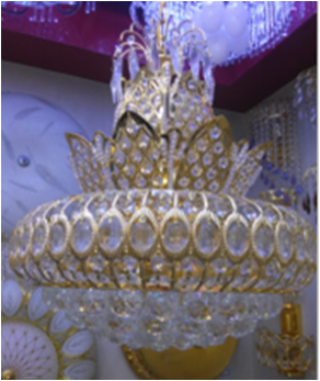 20-13 French Empire Crystal Chandelier Chandeliers