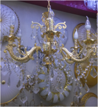 20-6 French Empire Crystal Chandelier Chandeliers
