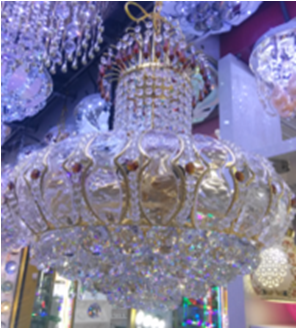 20-7 French Empire Crystal Chandelier Chandeliers