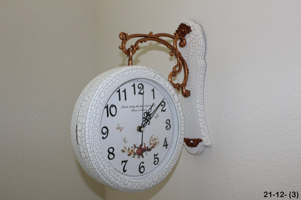 21-12 Double sided Clock