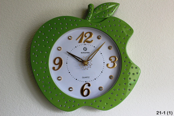 21-1 Apple Shaped wall clock