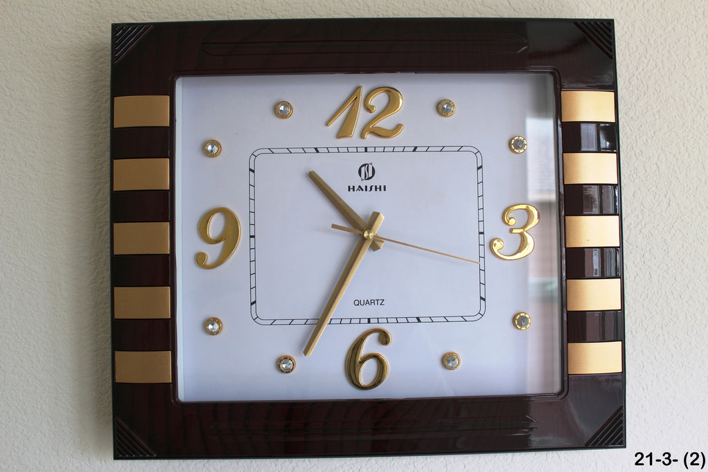 21-3 wall Clock Square design