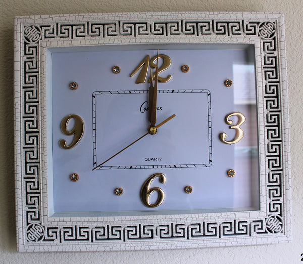21-6 Wall Clock versace design