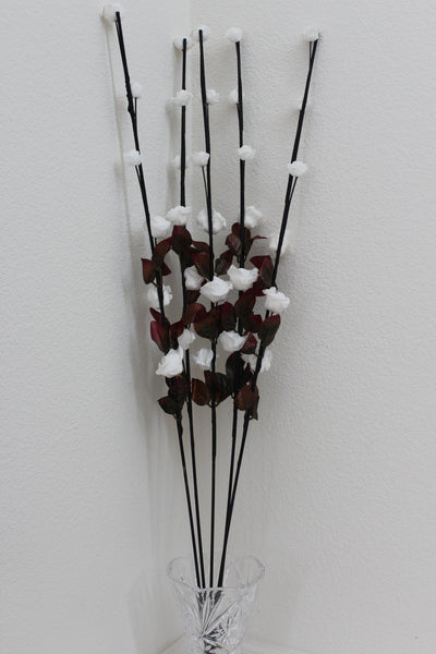 "25-8-2 Artificial Flower 41"" (105 cm) Set includes 5 single stem"