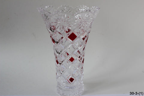 30-3 Beautiful glass vase
