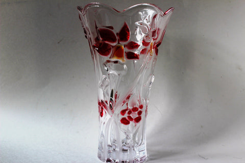 30-5 Beautiful glass vase