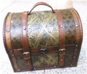 5-8 Treasure Box Small Trunk Box