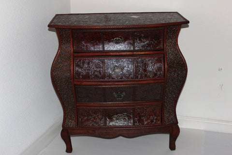 5-17 Antique Style Wooden Corner Commode
