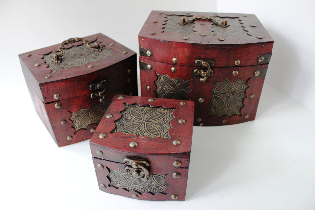 5-6 Treasure Box Small Trunk Box