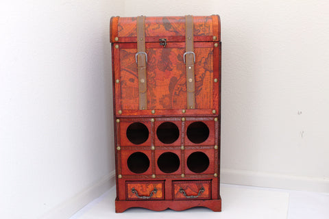 5-9 Wooden wine storage & Rack