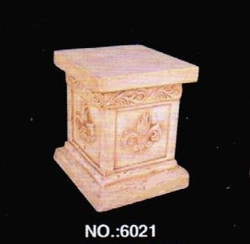 Stone 6021 Stone Finish Home & Garden Column 9.6 L x 9.6  W x 12  H in.