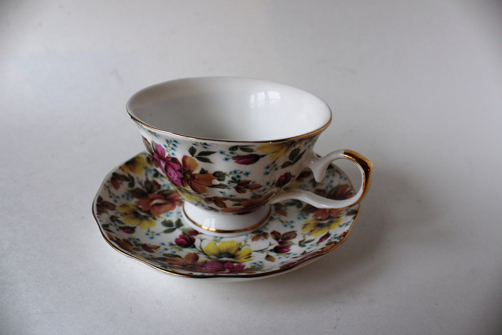 7-9 Beautiful Porcelain Espresso & Tea Cup set 8 pieces