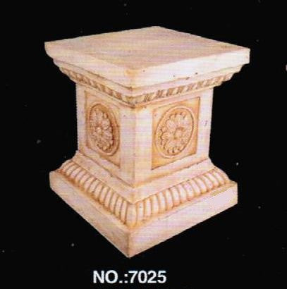 Stone 7025 Stone Finish Home & Garden Column 14 L x 14   W x 16.4 H in.