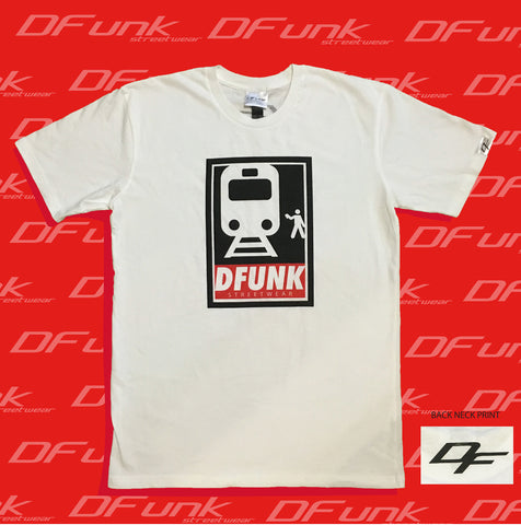 DFunk train poster white & black variants T