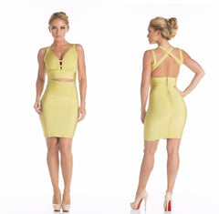 Green Tea Two Piece Bandage Set