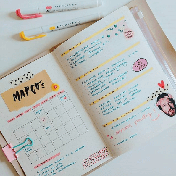 Bullet Journal Vitor Martins