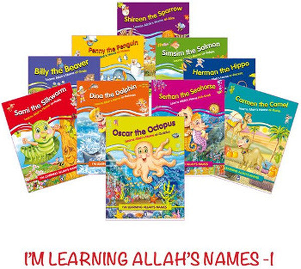I'm Learning Allah's Names-1