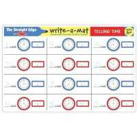 Telling Time Write-A-Mat 5036