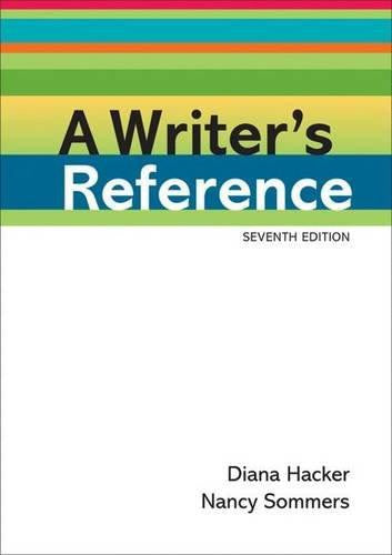 Writers Reference