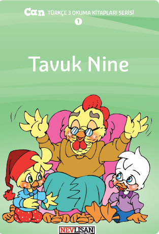 CAN Turkce Okuma Seti-3 (4 Books)