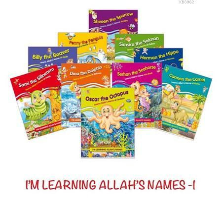 I'm Learning Allah's Names Set 1