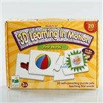 Match It! 3D Learning In Motion - First Words