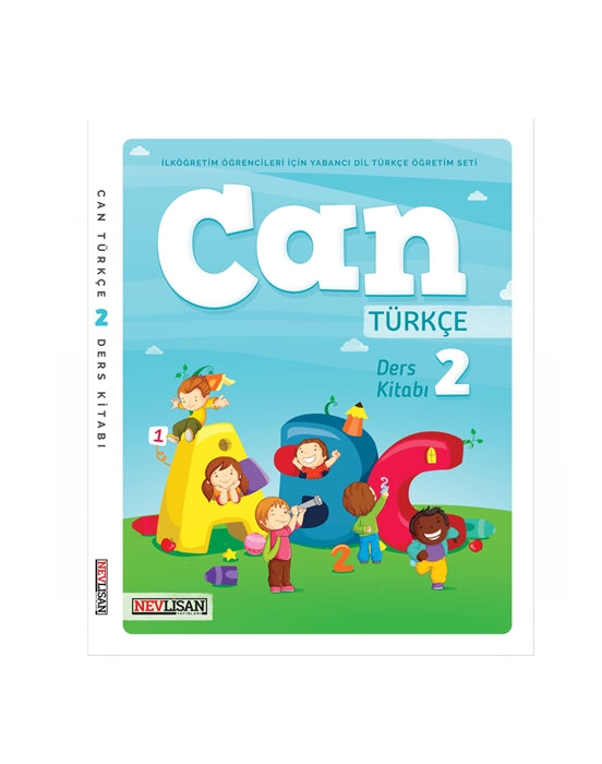 CAN Turkce Ders Kitabi-2 (Student Book)(w/CD)