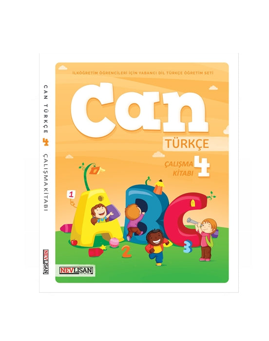 CAN Turkce Calisma Kitabi-4 (Workbook)