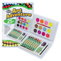 Art Adventure 25 PC Crayon Set